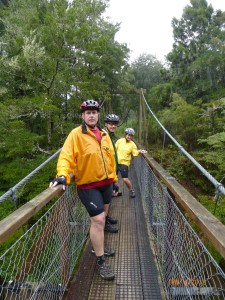 Pelorus swinging bridge!