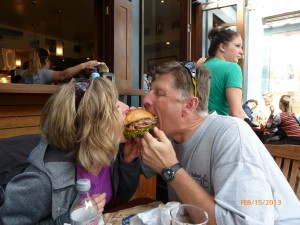 Love at the Fergburger