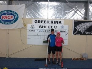 The Greer's immortalized in NZ curling