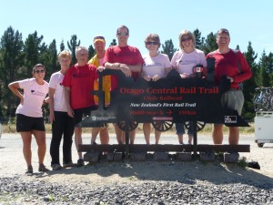 Official beginning of the Otaga Rail Trail